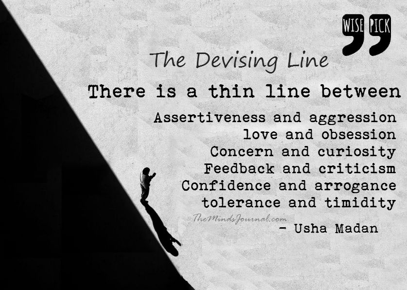 The devising line – WISE PICK