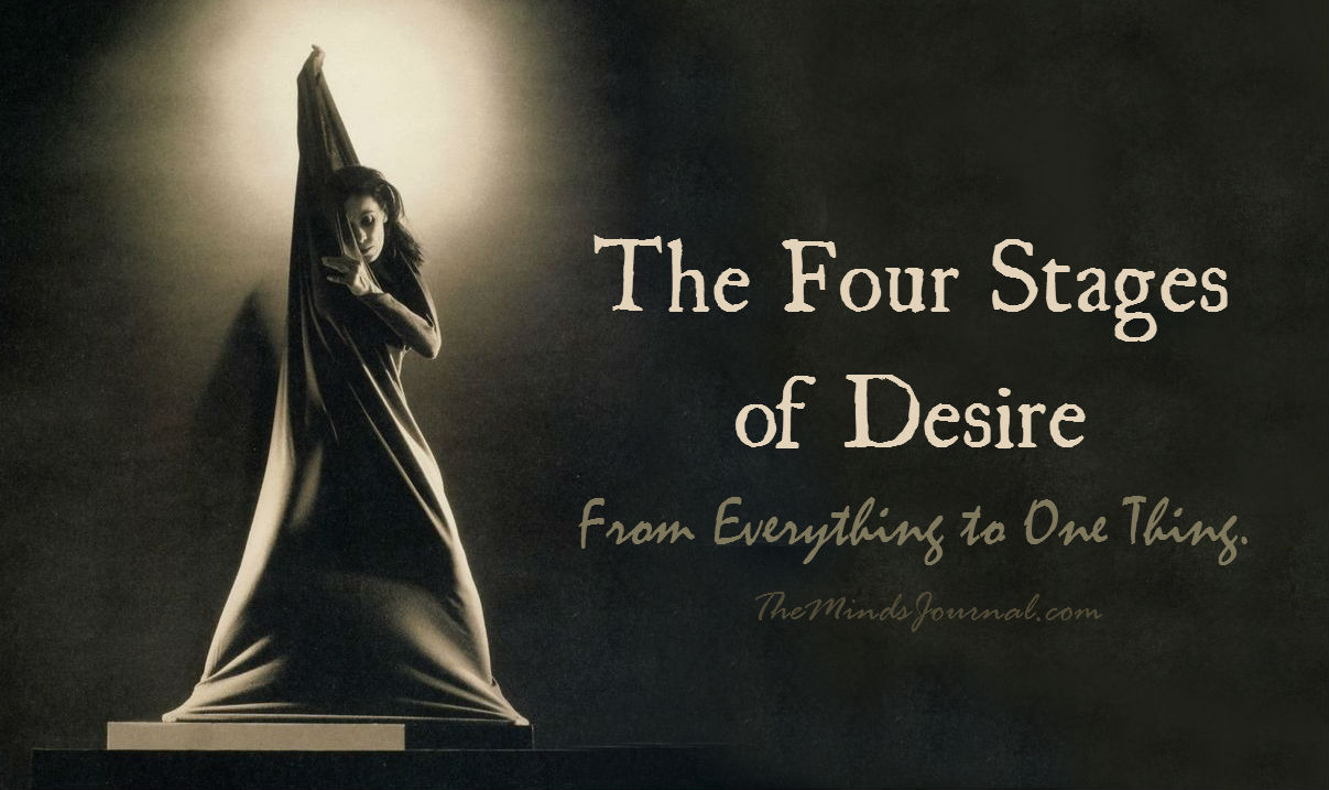 The Four Stages of Desire: From Everything to One Thing