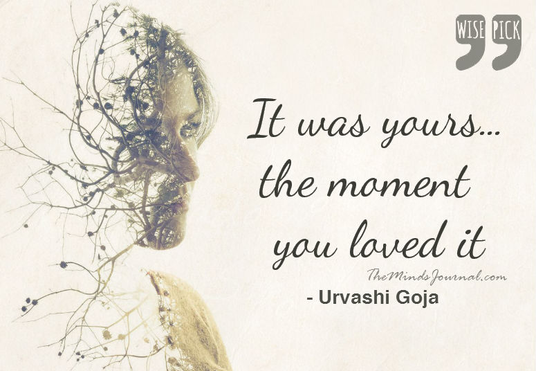 The moment you loved it..