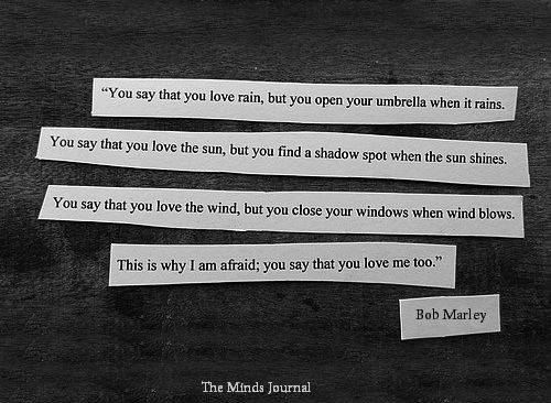 You Say You Love The Rains The Minds Journal
