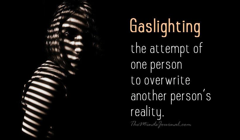 Αποτέλεσμα εικόνας για Gaslighting