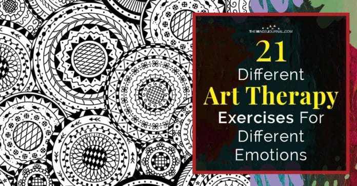 Art Therapy Exercises For Different Emotions