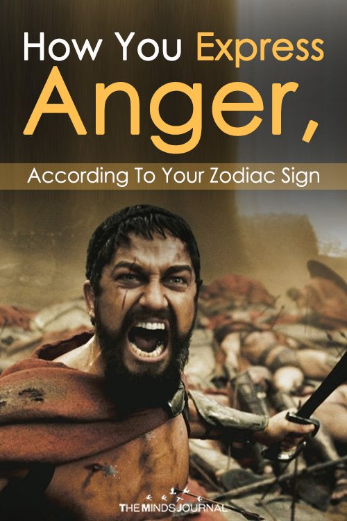 How You Express Anger, According To Your Zodiac Sign (2)