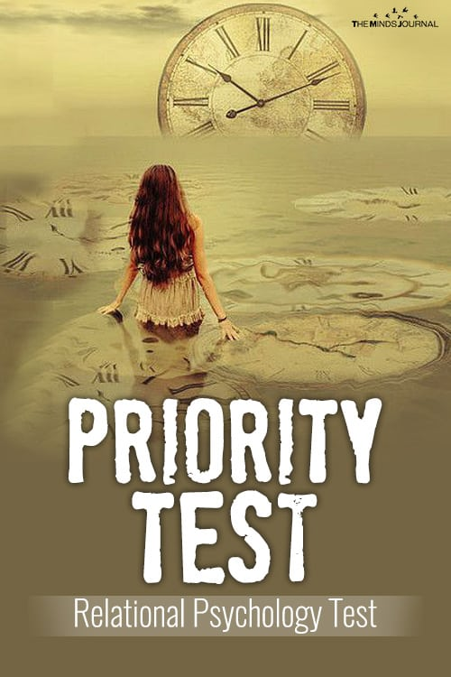 Priority Test - Relational Psychology Test