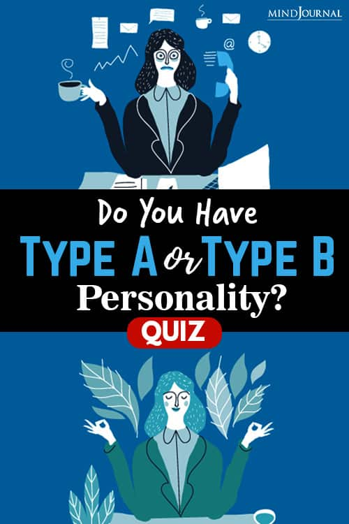 Type A Or Type B Personality pin