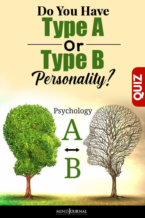 Type A Or Type B Personality types pin