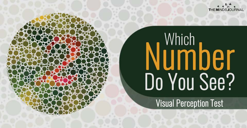 Which Number Do You See? – Visual Perception Test