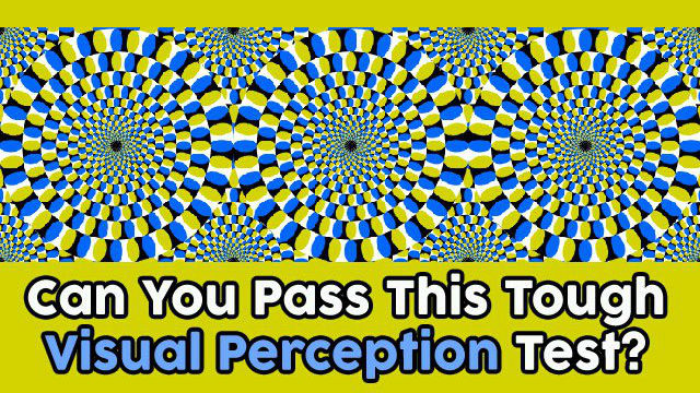 Can You Pass The Perception Test? – MIND GAME