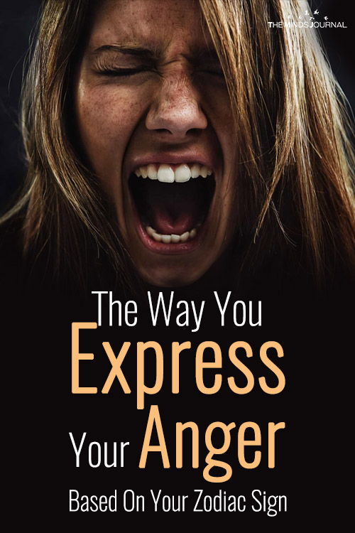 express your anger