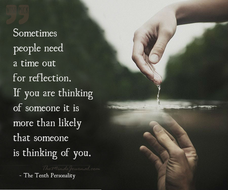 If you are thinking of someone…