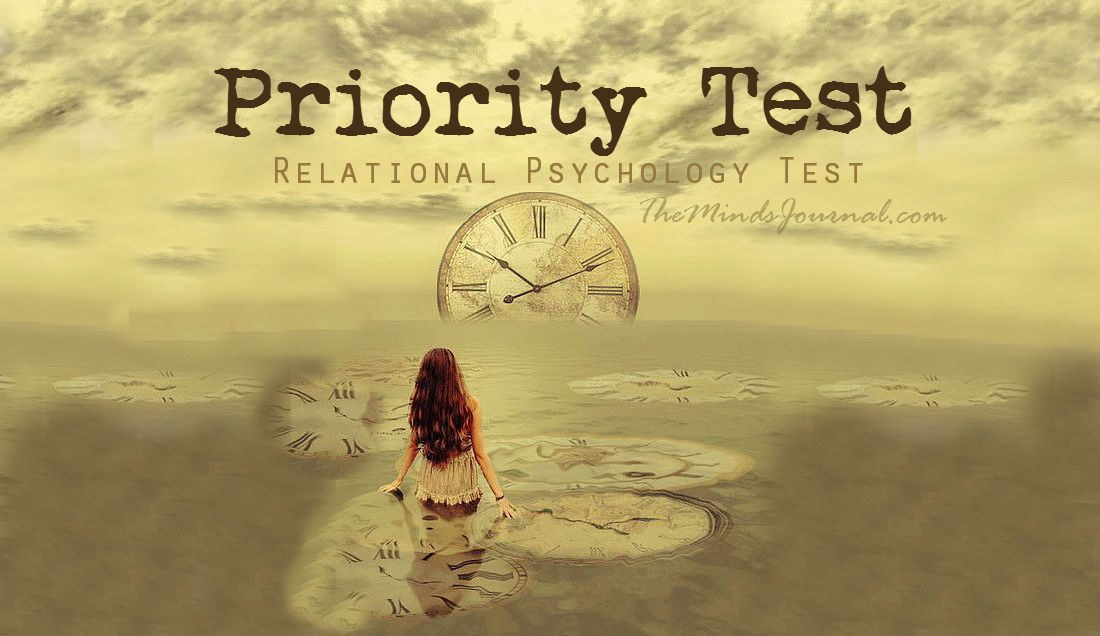 Priority Test – Relational Psychology Test