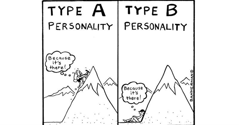 The 10 Question Test That Can Determine If You're Type A Or Type B – MIND GAME