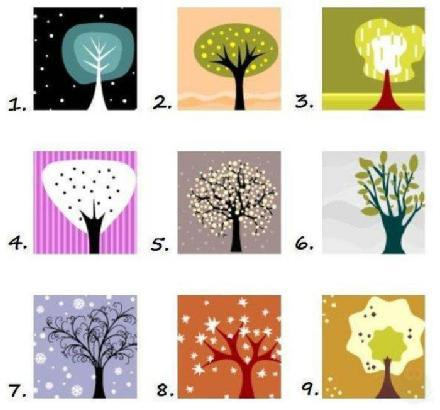 Fun Personality Test – Pick A Tree - MIND GAME