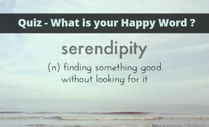 What is your Happy Word ? – MIND GAME