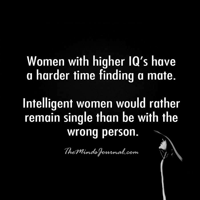 Women with Higher IQ