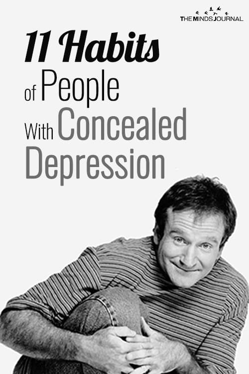11 Habits of People With Concealed Depression pin