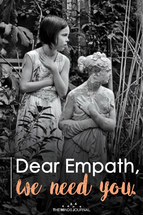 Dear Empath, we need you.