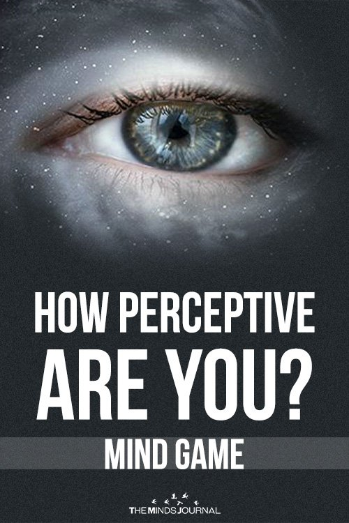 How Perceptive Are You – MIND GAME2