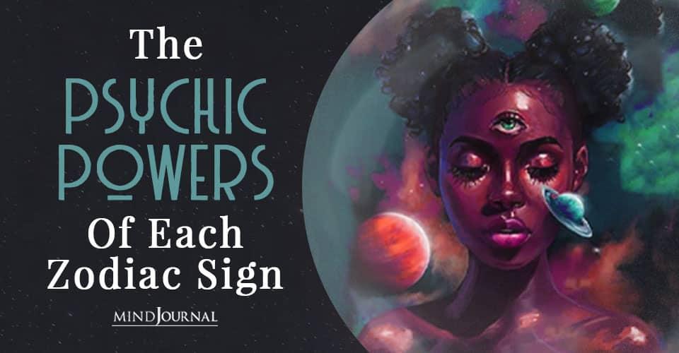 Psychic Powers Of Zodiac Sign