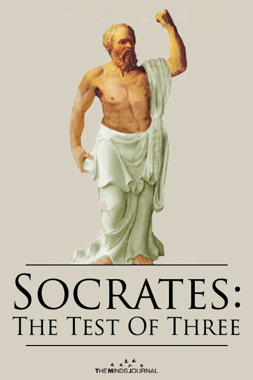 Socrates The Test Of Three