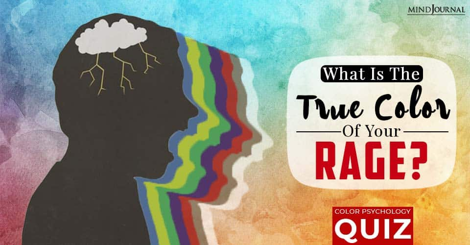 What Is The True Color Of Your Rage