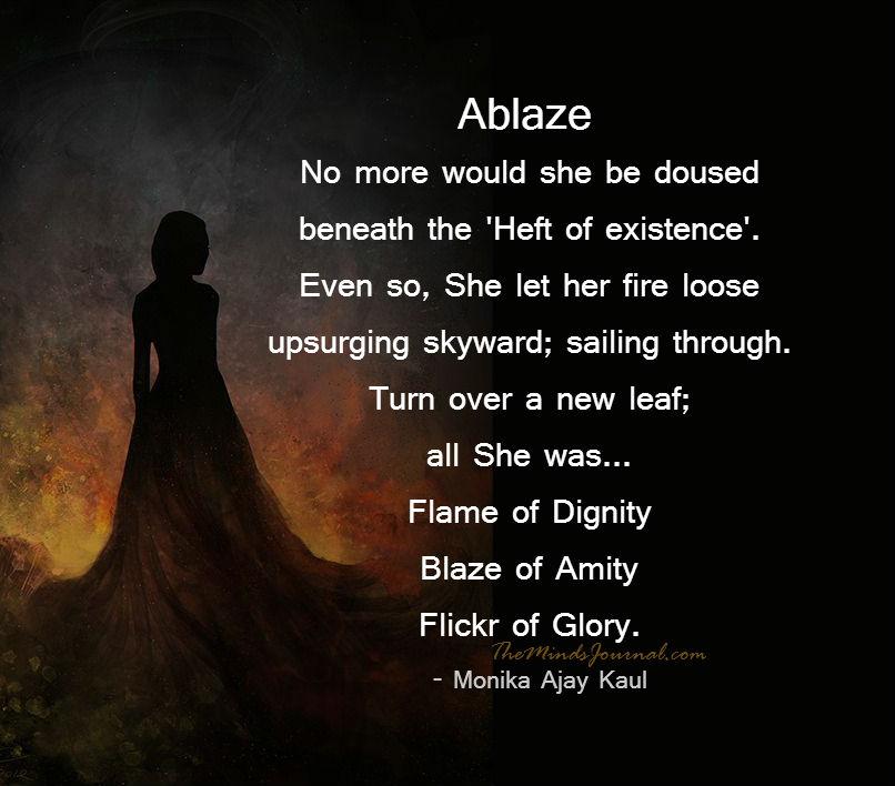 """Ablaze"""