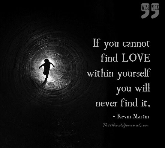 Find love within Yourself