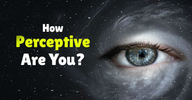 How Perceptive Are You? – MIND GAME