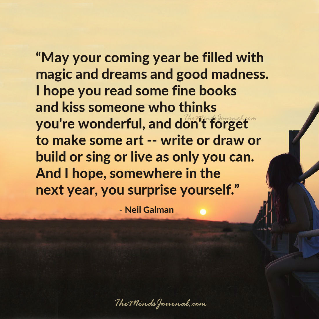 May your coming year