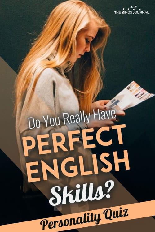 perfect english skills pin