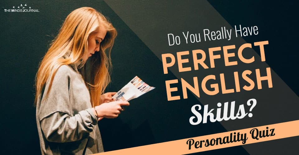 perfect english skills