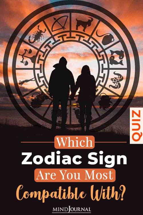 perfect match zodiac sign pin