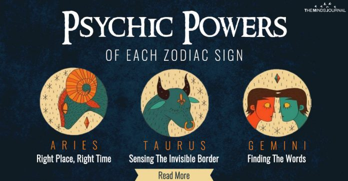psychic powers of each zodiac
