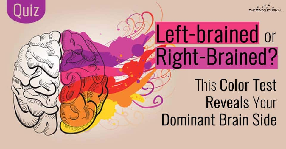 Left-brained or Right-Brained? This Color Test Reveals Your Dominant Brain Side