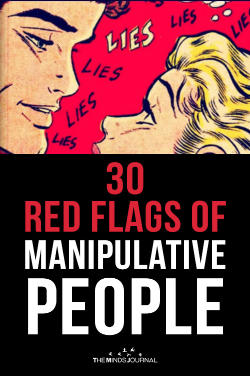 30 Red Flags of Manipulative People