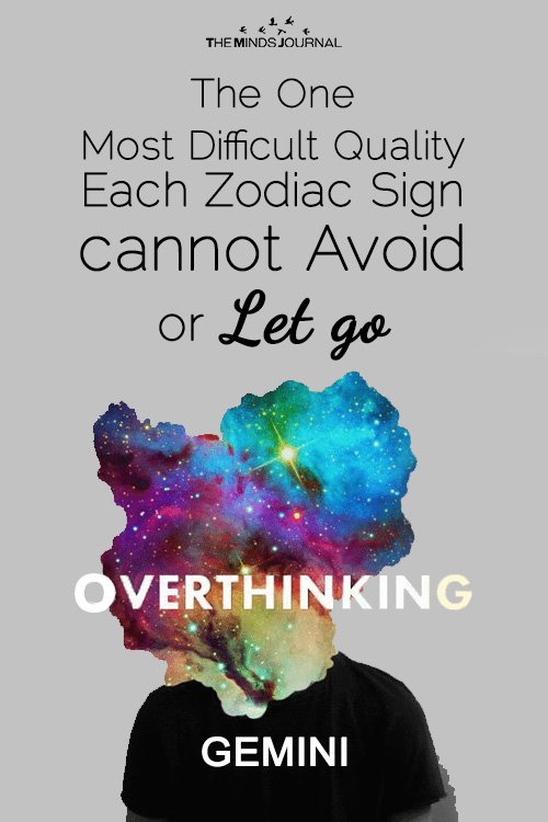 The Most Difficult Quality each Sign cannot Avoid or Let go