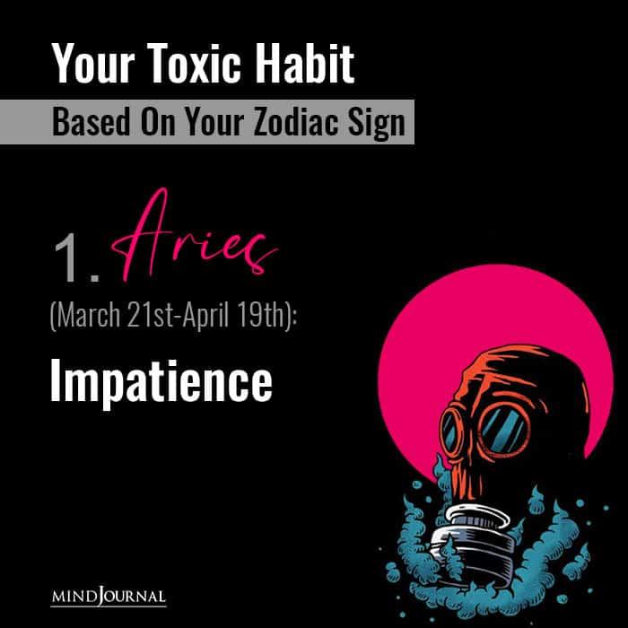Your Toxic Habit Impatience