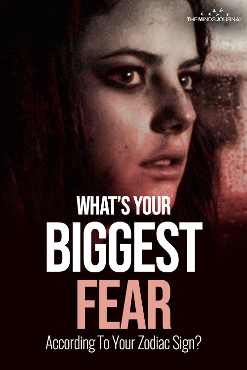 biggest fear pin