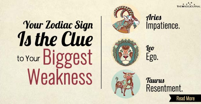 clue to biggest weakness