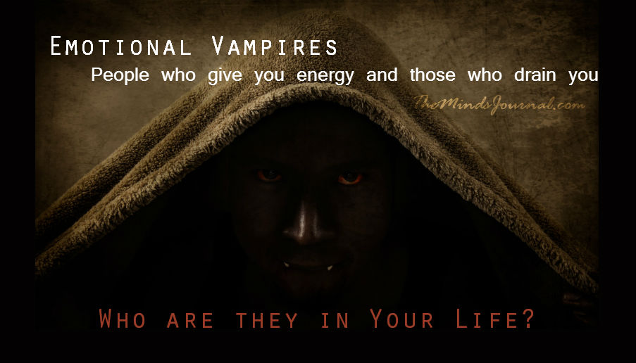 Emotional Vampires: Who are they in Your Life? – Judith Orloff