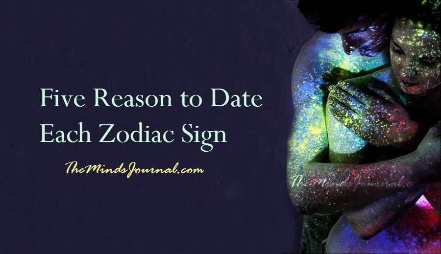 Five Reason to Date Each Zodiac Sign