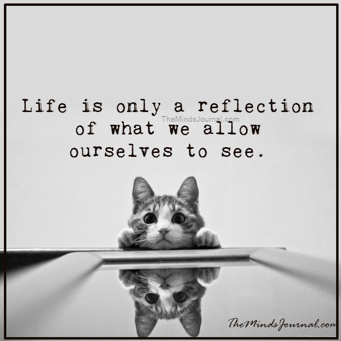 Life is only a reflection of