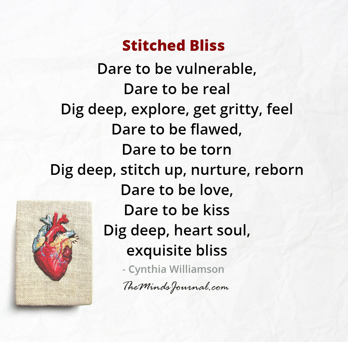 Stitched Bliss