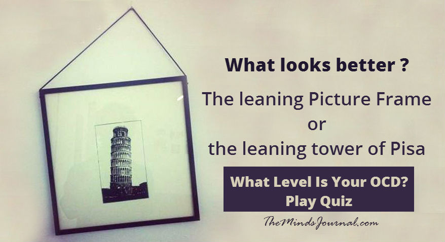 What Level Is Your OCD? – MIND GAME