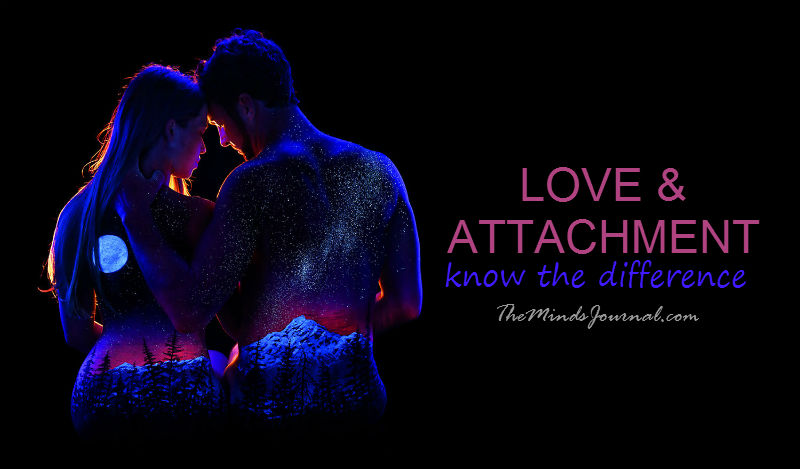 What's the Difference Between LOVE & ATTACHMENT in Relationships?