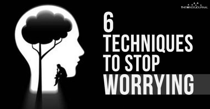 6 Techniques to Stop Worrying2