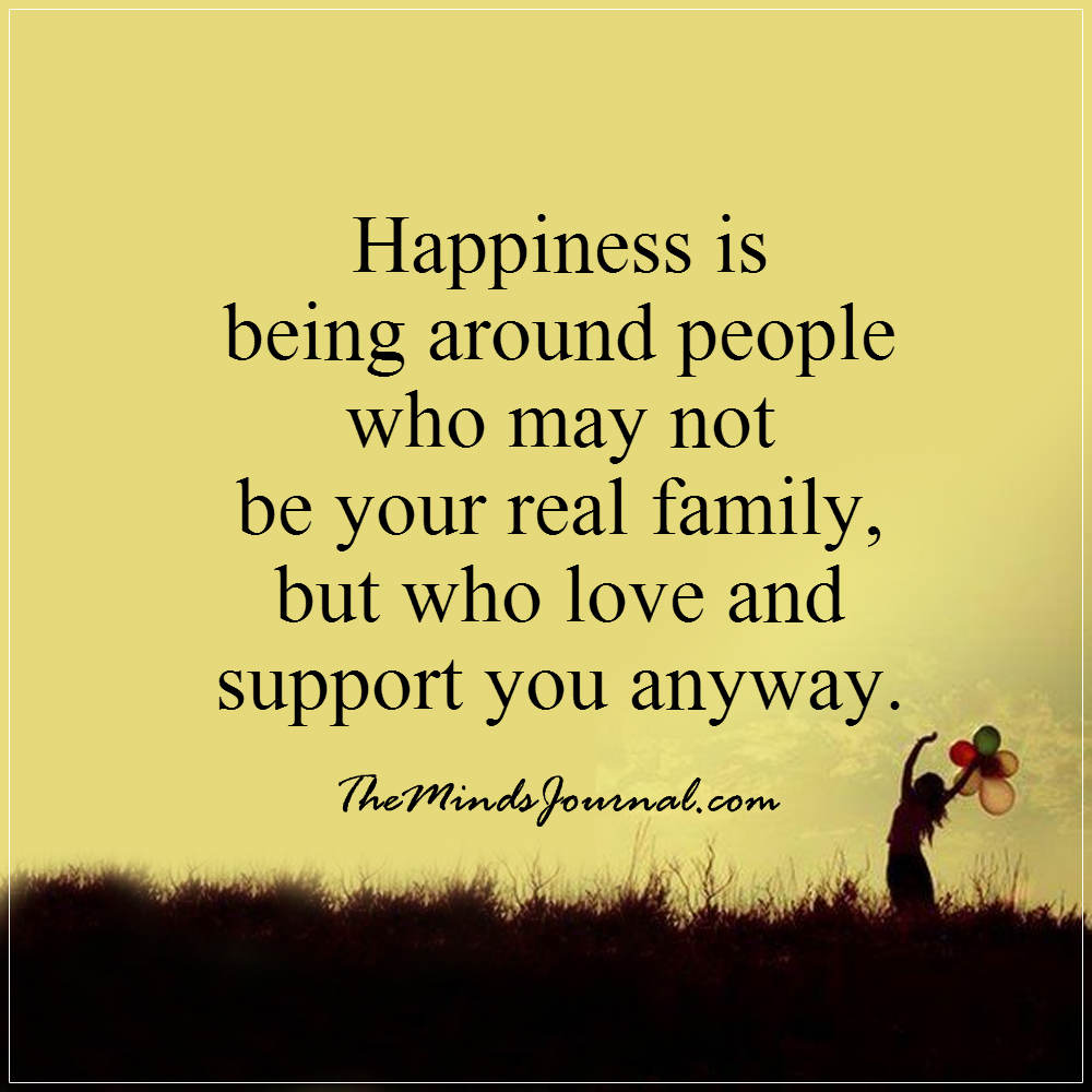 Happiness is being around people