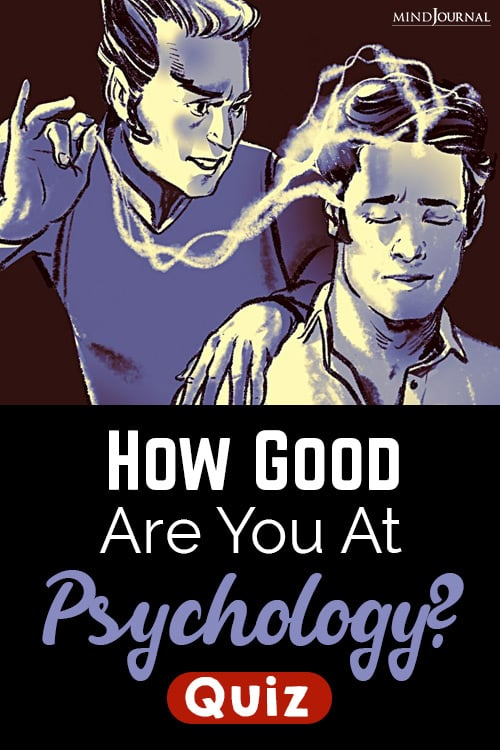Good Are You pin psycology