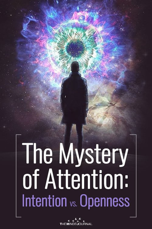 The Mystery of Attention Intention vs. Openness