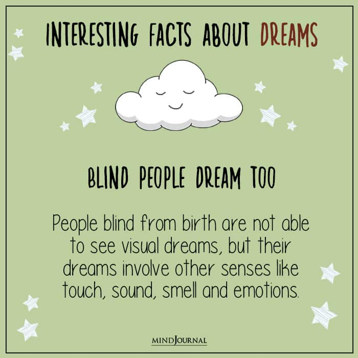 blind people dream too